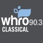 Logo da emissora WHRO 90.3 FM