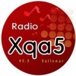 Logo da emissora Radio XQA 5 95.5 FM