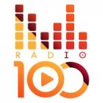 Logo da emissora Rádio 100 FM
