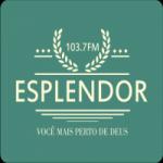 Logo da emissora Rádio Esplendor 103.7 FM