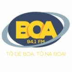 Logo da emissora Rádio Boa FM
