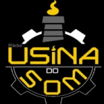 Logo da emissora Usina do Som