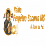 Logo da emissora Rádio Perpétuo Socorro MS
