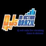 Logo da emissora DJs in Action Brazil