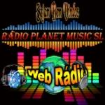Logo da emissora Planet Music SL