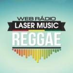 Logo da emissora Laser Music Reggae