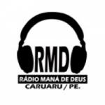 Logo da emissora Rádio Maná de Deus