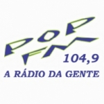 Logo da emissora R�dio Pop 104.9 FM