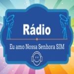 Logo da emissora Rádio Eu Amo Nossa Senhora Sim