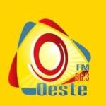 Logo da emissora R�dio Oeste 96.3 FM