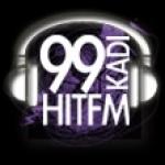 Logo da emissora Radio KADI 99 HIT FM