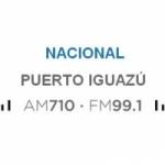 Logo da emissora Radio Nacional 710 AM 99.1 FM
