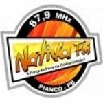 Logo da emissora R�dio Nativa 87.9 FM