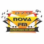 Logo da emissora Rádio Nova 87 FM