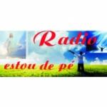 Logo da emissora Rádio Estou de Pé