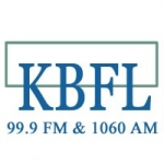 Logo da emissora Radio KBFL 1060 AM