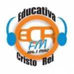 Logo da emissora Rádio Educativa Cristo Rei 106.1 FM