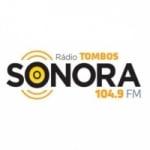 Logo da emissora Rádio Tombos Sonora 104.9 FM