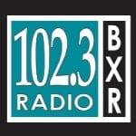 Logo da emissora Radio KBXR 102.3 FM
