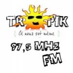 Logo da emissora Radio Tropik 97.5 FM
