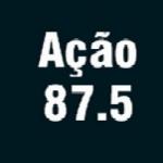 Logo da emissora R�dio A��o 87.5 FM