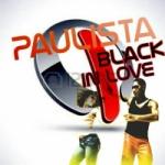 Logo da emissora Rádio Paulista Black in love