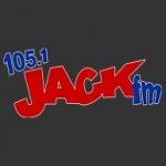 Logo da emissora Radio KCJK 105.1 FM
