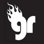 Logo da emissora Webradio Garagem do Rock