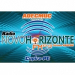 Logo da emissora R�dio Novo Horizonte 104.9 FM