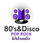 Logo da emissora 80's & Disco Pop Rock