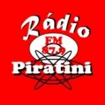 Logo da emissora Rádio Piratini 87.9 FM