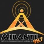 Logo da emissora Rádio Mirante 98.7 M