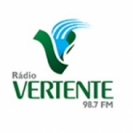Logo da emissora Rádio Vertente 98.7 FM