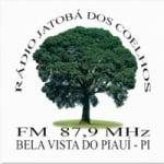 Logo da emissora R�dio Jatob� dos Coelhos 87.9 FM