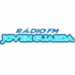 Logo da emissora Rádio Jovem Guarda 87.5 FM