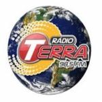 Logo da emissora Rádio Terra 98.5 FM