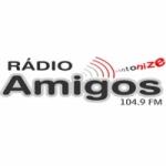 Logo da emissora Rádio Amigos 104.9 FM