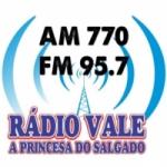 Logo da emissora R�dio Vale AM 770