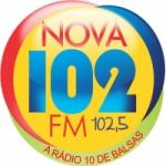 Logo da emissora R�dio Nova 102 FM
