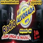 Logo da emissora R�dio Alvorada FM