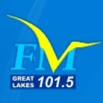 Logo da emissora Radio Great Lakes 101.5 FM