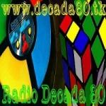 Logo da emissora Rádio Década 80