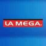 Logo da emissora Radio La Mega 91.1 FM