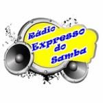Logo da emissora Rádio  Expresso do Samba