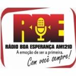 Logo da emissora Rádio Boa Esperança 1210 AM