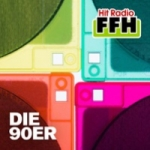 Logo da emissora FFH 105.9 FM Die 90er