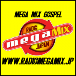 Logo da emissora Rádio Mega Mix Japan Gospel