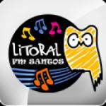 Logo da emissora Rádio Litoral FM