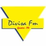 Logo da emissora Rádio Divisa FM