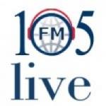Logo da emissora 105 Live Vatican Radio 105 FM Latina